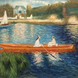 Bringing the Outdoors in. Spring-up with O'keeffe and Renoir