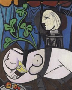 picassonudegreenleavesandbust 240x300 Picasso Breaks the Auction House Record