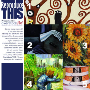 ReproduceTHIS: Know your Art Quiz