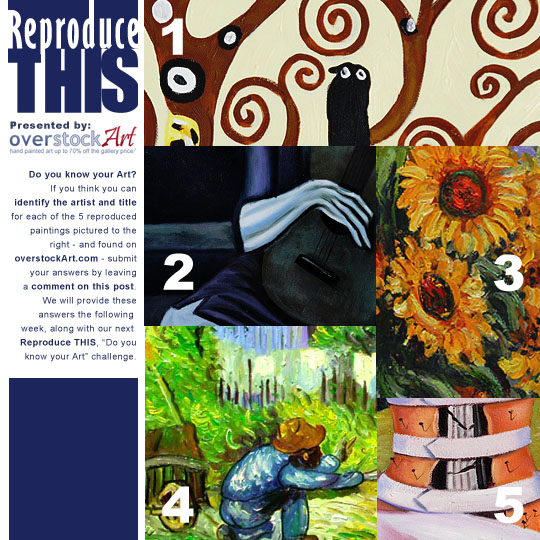 Reproduce THIS Do you know your Art 11 ReproduceTHIS: Know your Art