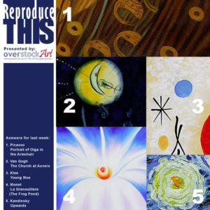 ReproduceTHIS: Know your Art 5