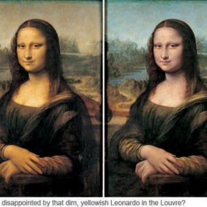 The Mona Lisa Gets A Face Lift