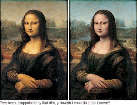 art corner blog the mona lisa gets a face lift