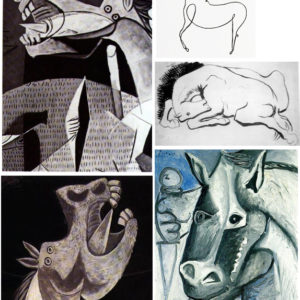 Picasso's Horses