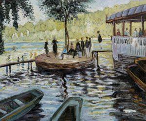 Claude Monet - La Grenouillere (The Frog Pond)