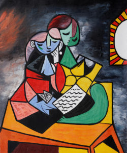Picasso - La Lecture