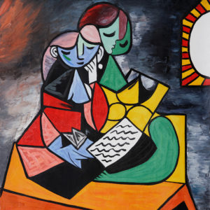 Why the Weird Faces Picasso?