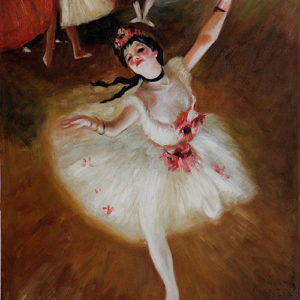 Edgar Degas infatuation with Dancer's Curves