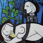 Picasso - Nude, Green Leaves and Bust
