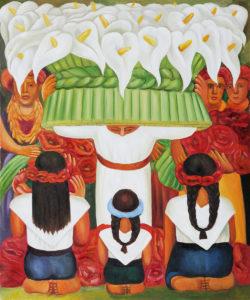 Flower Festival Feast of Santa Anita - Diego Rivera