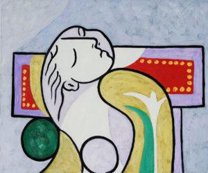 Picasso - La Lecture, 1932 (detail)