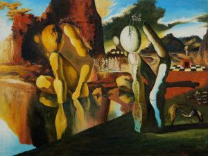 Salvador Dali - Metamorphosis of Narcissus