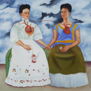 The Two Fridas – Kahlo's Suffering and Strength on Canvas
