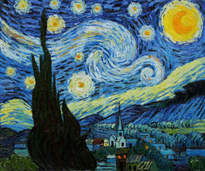 Van Gogh Starry Night Oil Painting
