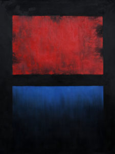 Rothko - No. 14 (Red, Blue over Black)