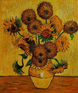 Van Gogh - Vase with Fifteen Sunflowers