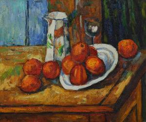 Cezanne - Bricoo, Bicchiere e Piato