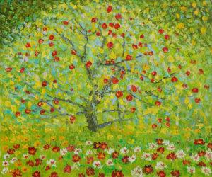 Klimt - The Apple Tree