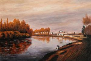 Monet - The Seine at Argenteuil