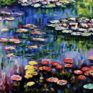 THOMAS KINKADE AND CLAUDE MONET:  IMPRESSIONS IN THE LIGHT