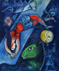 Chagall - The Blue Circus