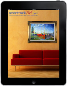 overstockArt.com Oil Paintings App for iPad