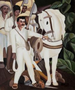 Rivera - Agrarian Leader Zapata