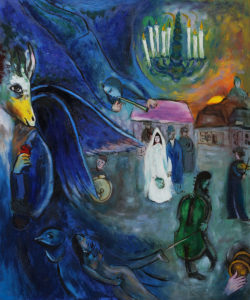 Chagall - The Wedding Candles