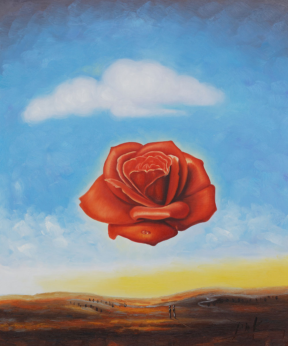 Dali - The Meditative Rose