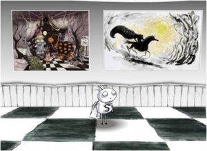 Tim Burton's Art influenced by Great Maters