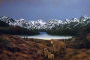 BEARS OF DENALI -  Art by the Artist Jerry Sauls