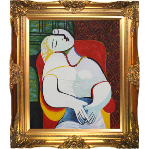 "Pablo Picasso's ""The Dream""  Most Popular Oil Painting in 2012"