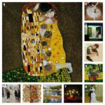 """The Kiss"" by Gustav Klimt Named Most Romantic Oil Painting for Valentine's Day 2013"