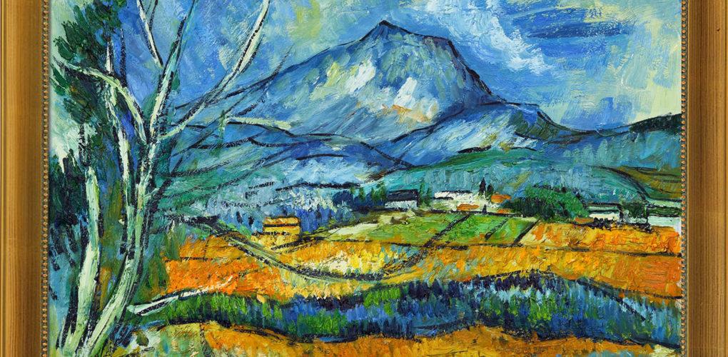 Art Corner Blog The Composition Of Paul Cezanne Modeling Vs