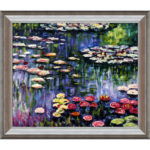 Claude Monet's Pink Water Lillies Top the chart for most desirable art for Spring 2013.
