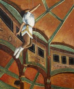 Degas - Miss Lala at The Cirque Fernando