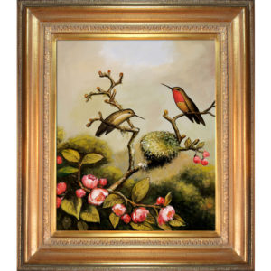 Heade - Ruby Throated Hummingbird
