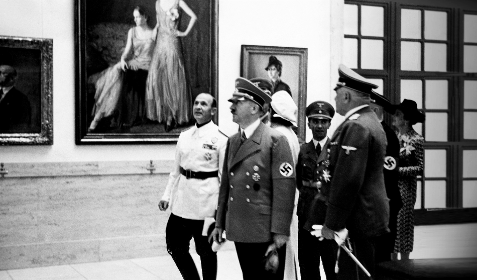 Nazi Loot of Art Museum Across Europe during World War II