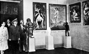 Looting of Europe - Hitler builds a massive art collection - scavenger of art collection during the war