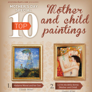 Top 10 Oil Paintings for Mother's Day