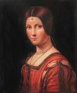 Da Vinci - Portrait of an Unknown Woman