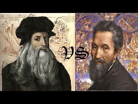 Leonardo da Vinci vs Michelangelo
