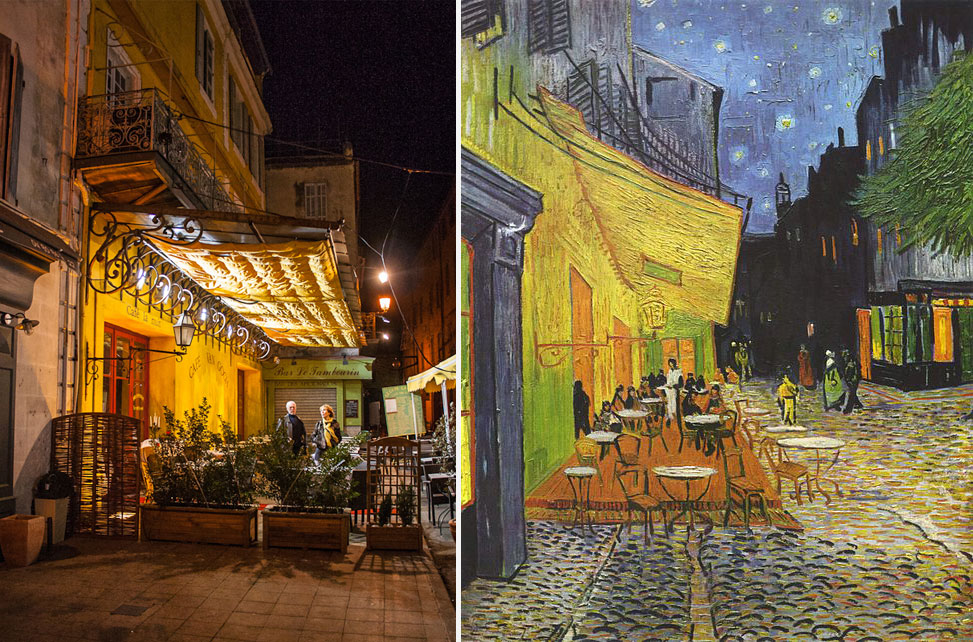 Vincent Van Gogh Cafe Terrace at Night Vincent Van Gogh 39 s Cafe
