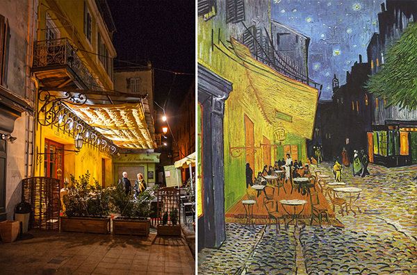 Vincent Van Gogh's Cafe Terrace