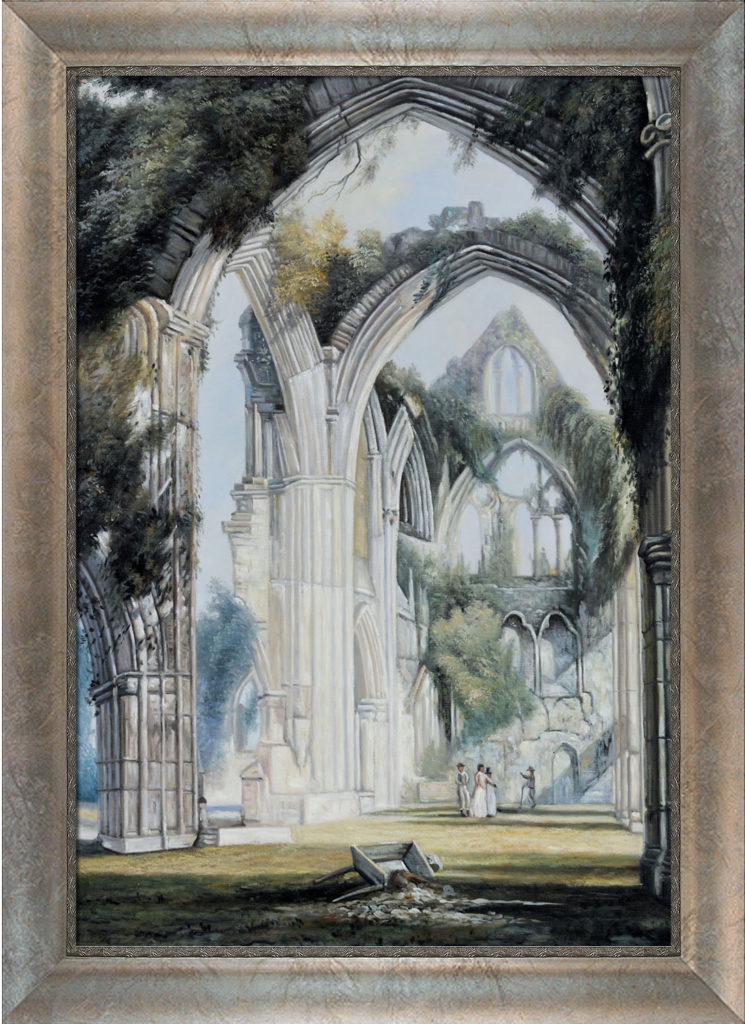 Joseph William Turner - Tintern Abbey