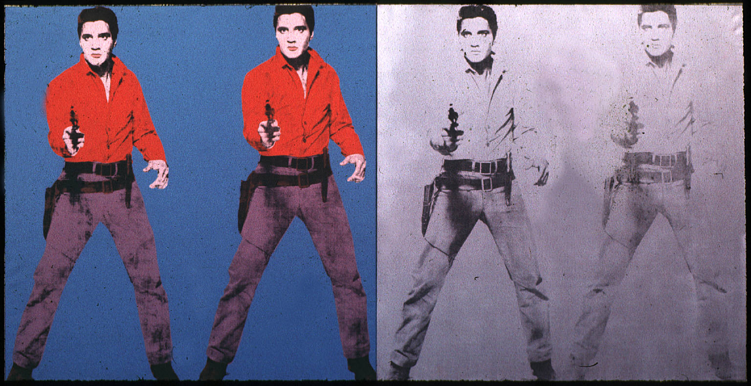 "Andy Warhol's ""Triple Elvis"""