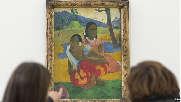 Gauguin painting breaks sale record at nearly $300m