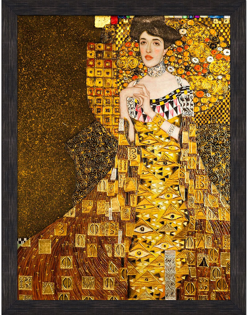 The lady draped in gold, Klimt's Portrait of Adele Bloch Bauer