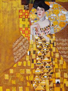 Portrait of Adele Bloch-Bauer I - 1907 by Gustav Klimt