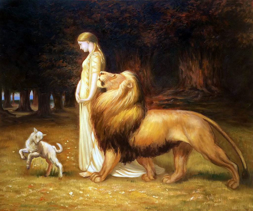 Riviere - Una and the Lion